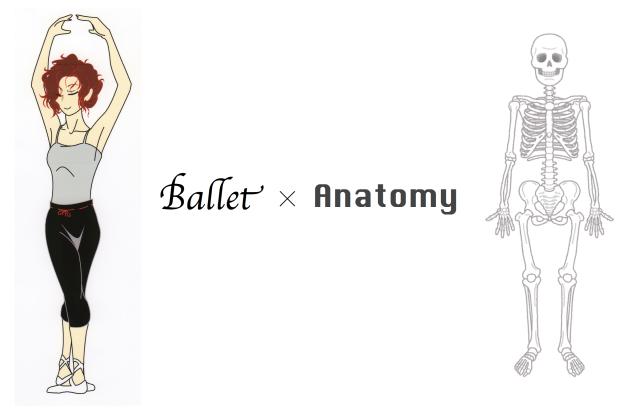 バレエと解剖学