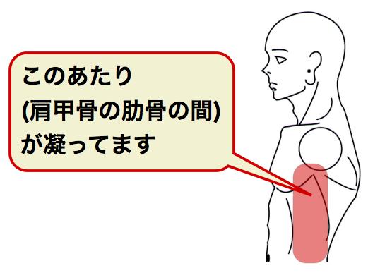 ストレッチ 肋骨
