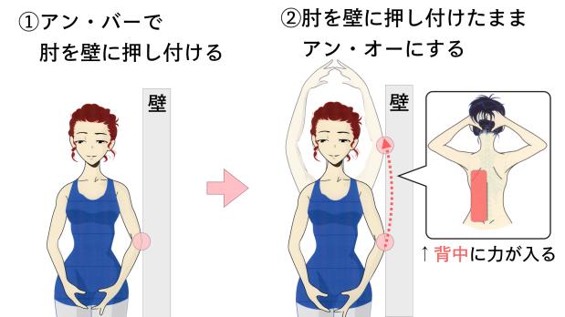 バレエで肘を張るシンプルな方法.014